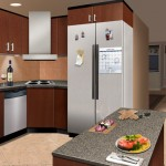 technical illustration of Health eHome Interactive Kitchen