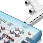 technical illustration of Airport Terminal Editorial Image
